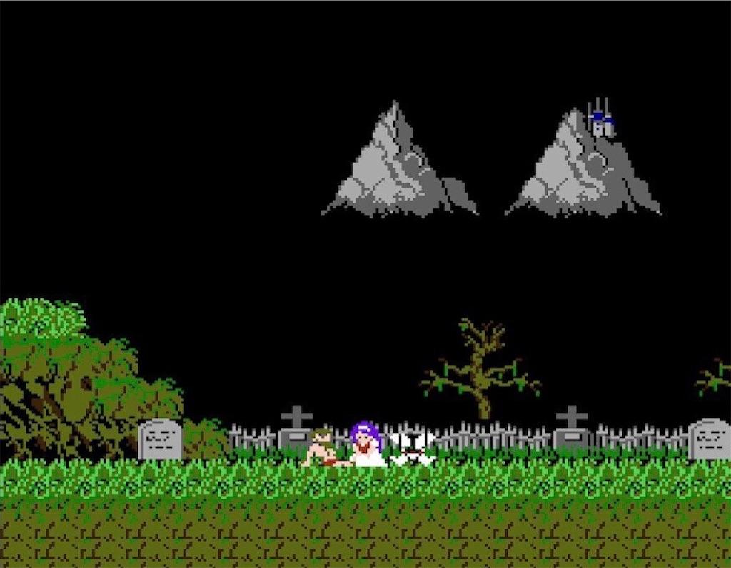 ファミコン『魔界村』