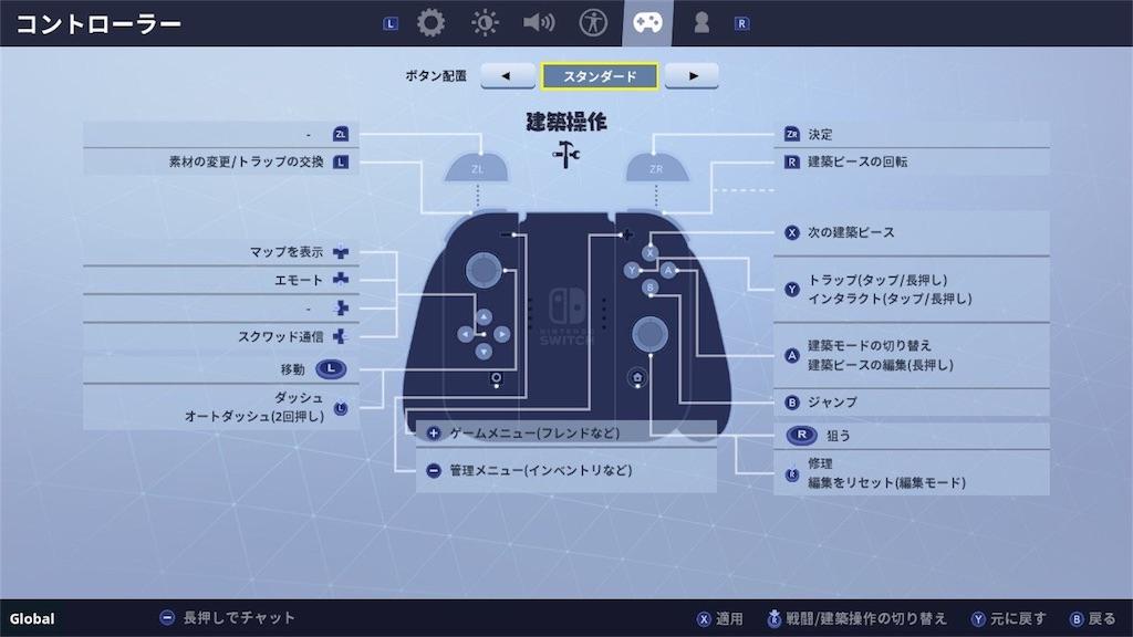 【Fortnite(フォートナイト)】操作方法