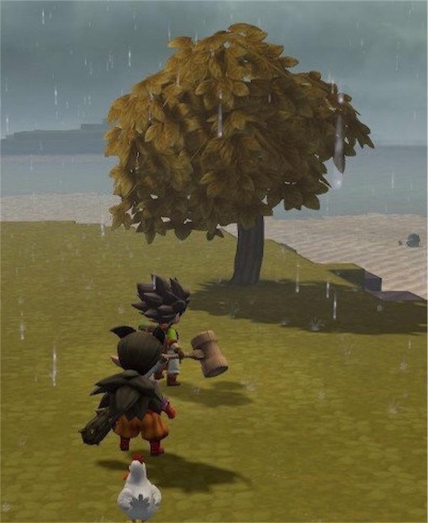 『枯れた木』【ドラクエビルダーズ2】