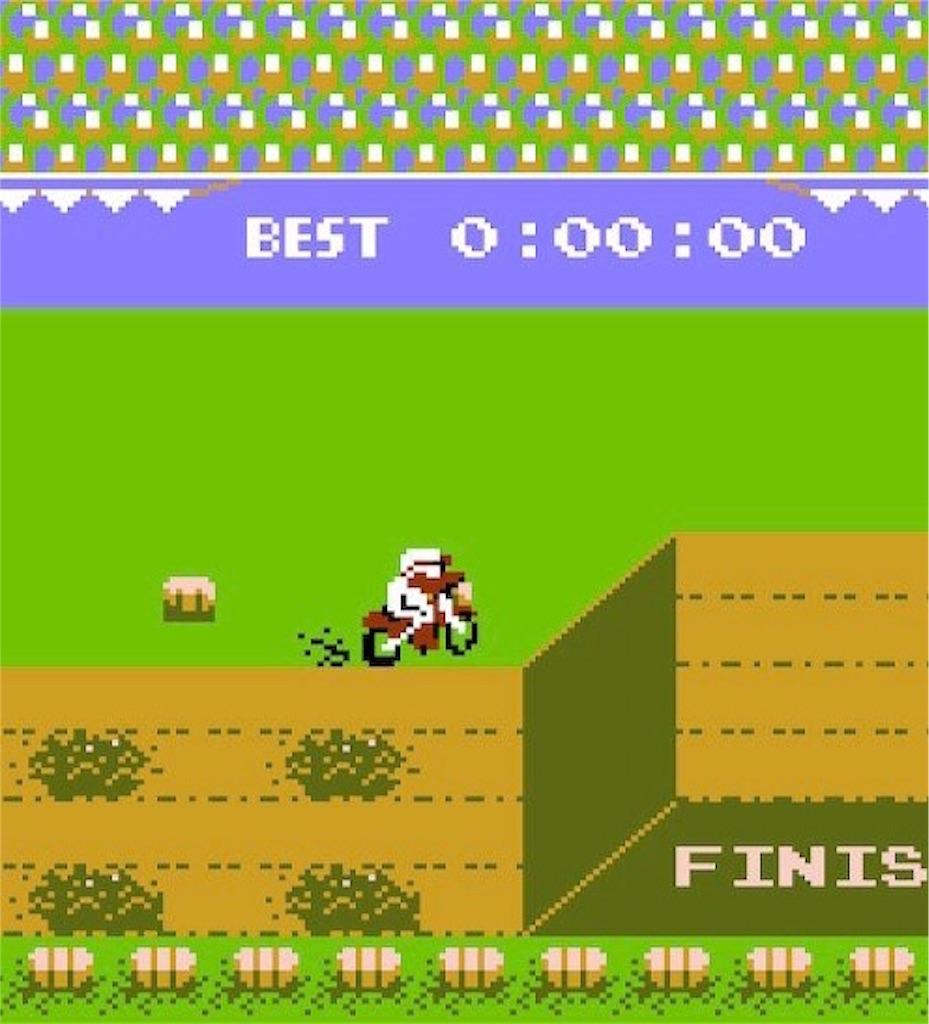 ファミコン『エキサイトバイク』