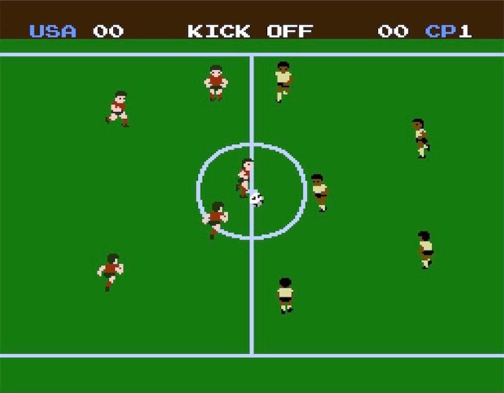 ファミコン『サッカー』