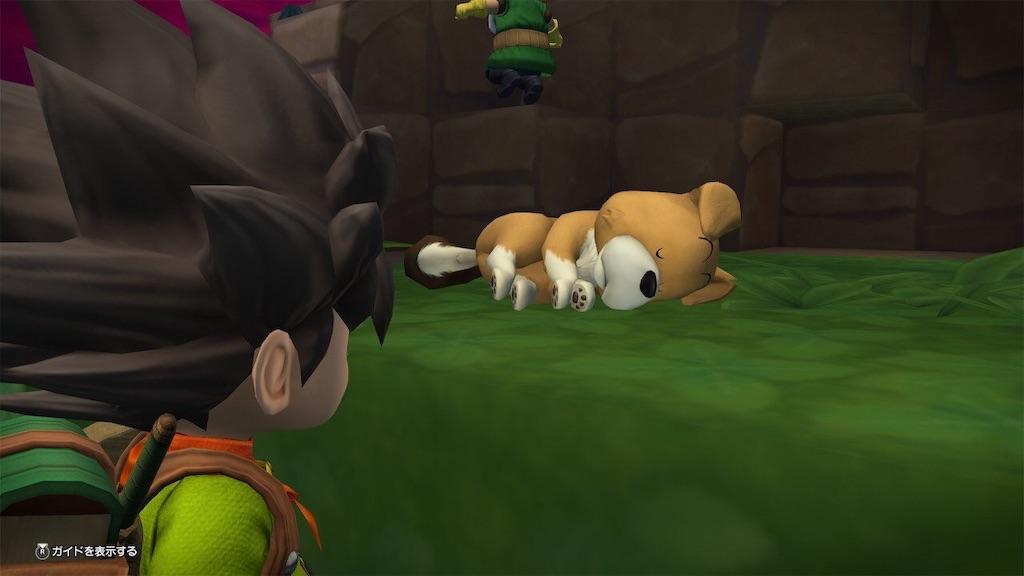 【ドラクエビルダーズ2】モンゾーラ犬