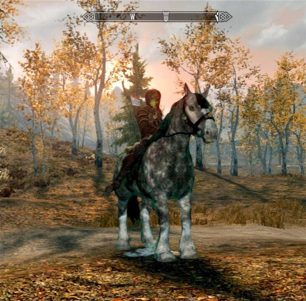 馬とアルゴニアン