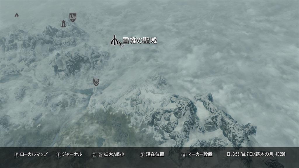 『雪帳の聖域』マップ