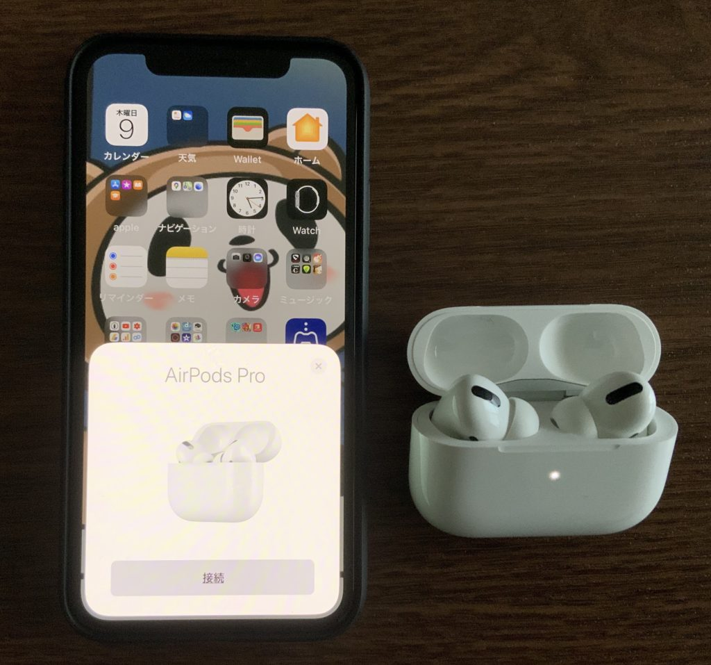 AirPods Proペアリング