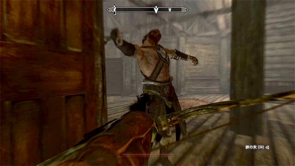 殺られる山賊の悪漢