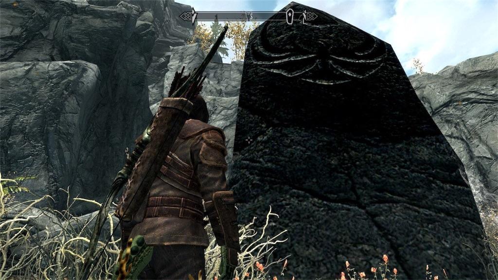 本当にでかい大立石