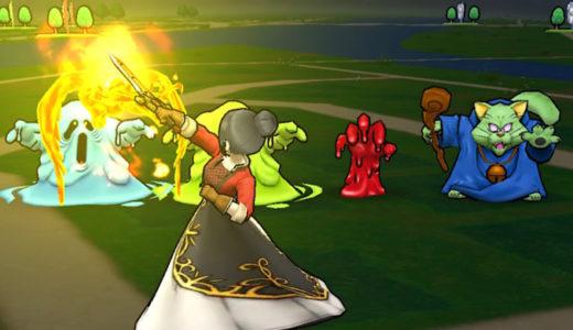 【DQウォーク日記】『バロックエッジ』レンジャーと魔法戦士、ダメージが上なのは?