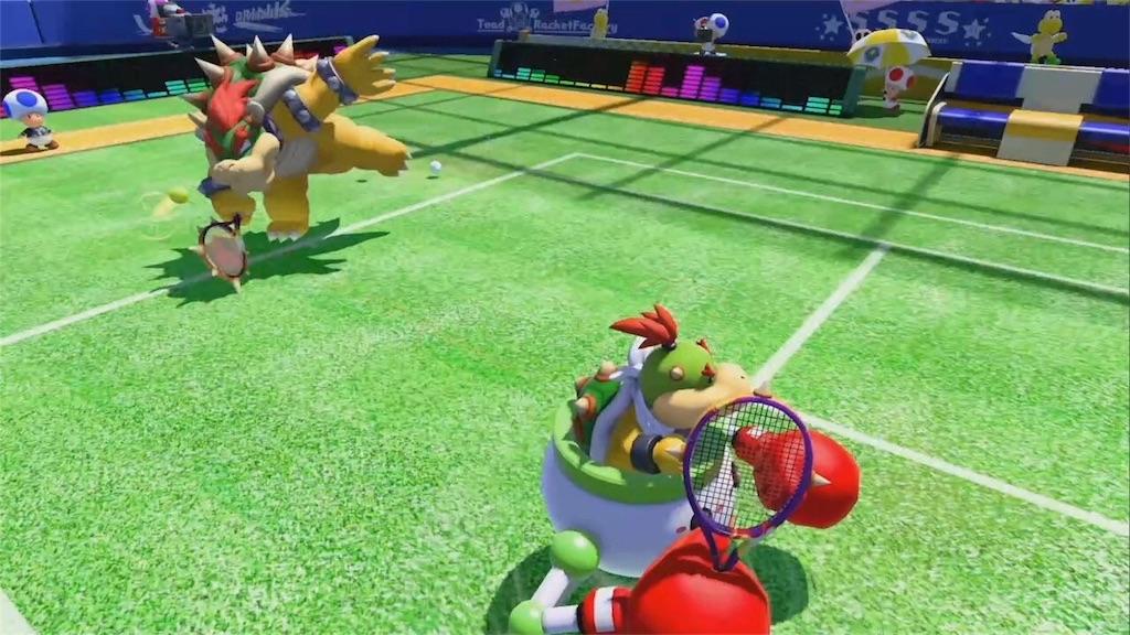 『マリオテニスエース』ストーリーモード