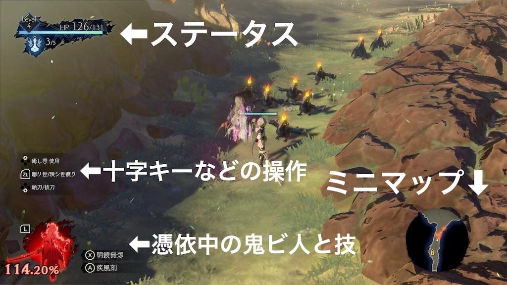 【鬼ノ哭ク邦】バトル画面の見方