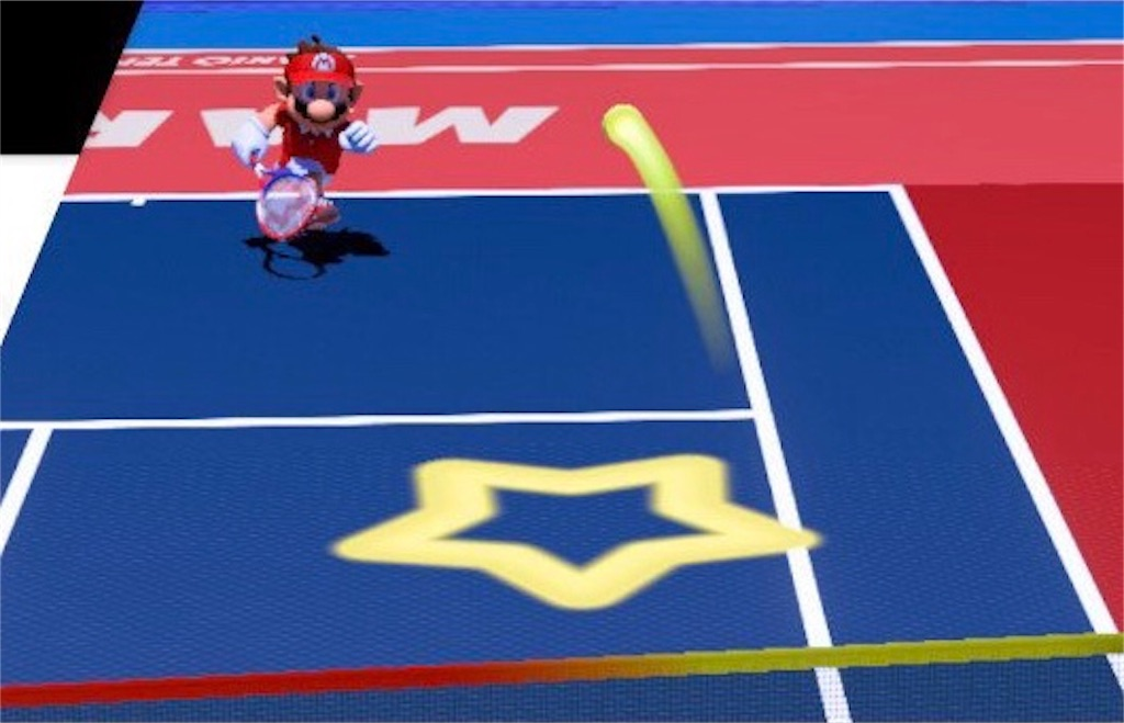 『マリオテニスエース』スマッシュポイント