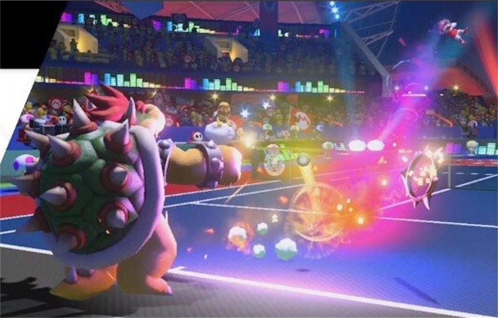 『マリオテニスエース』ラケット破壊