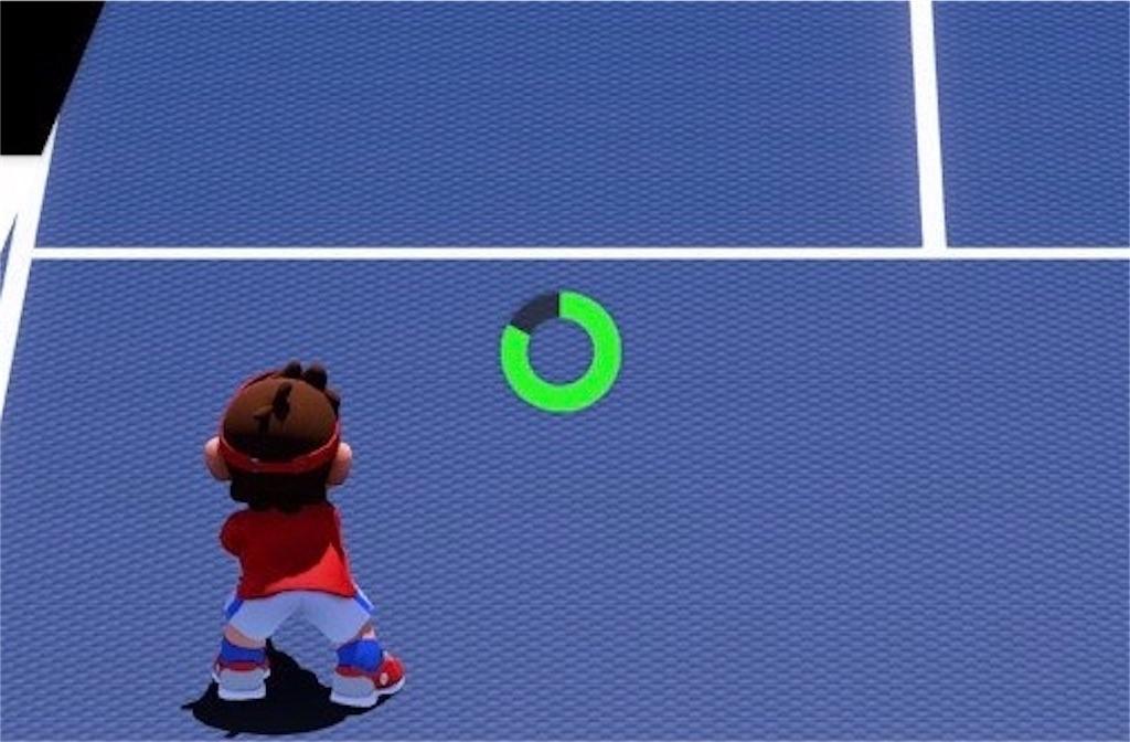 『マリオテニスエース』エナジーゲージ