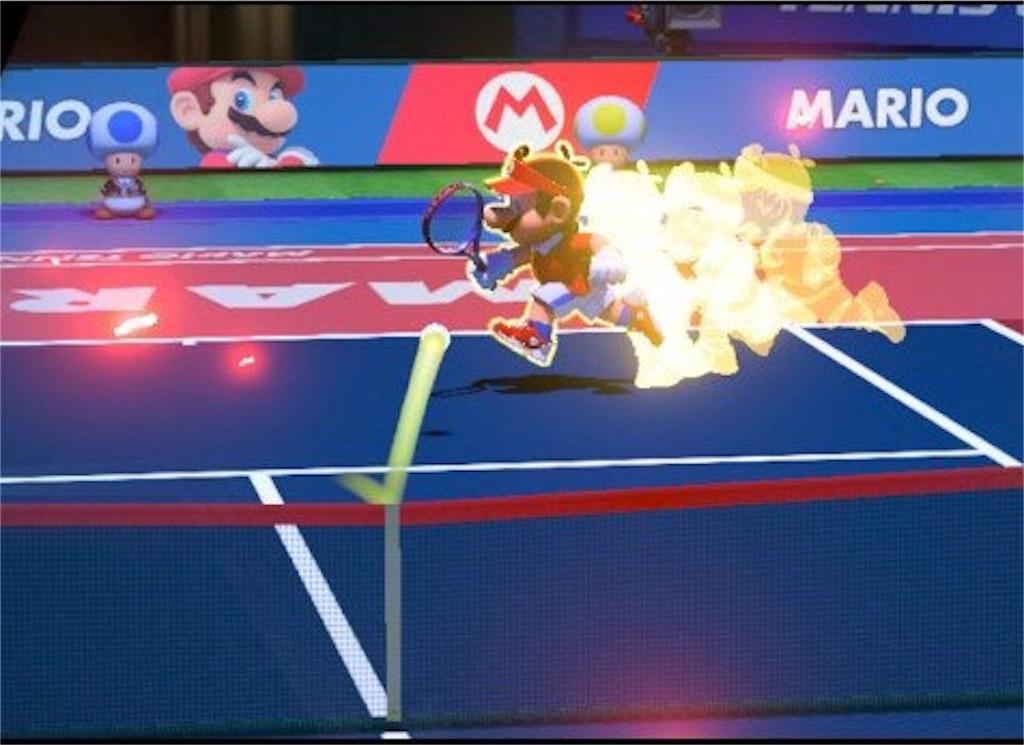 『マリオテニスエース』加速