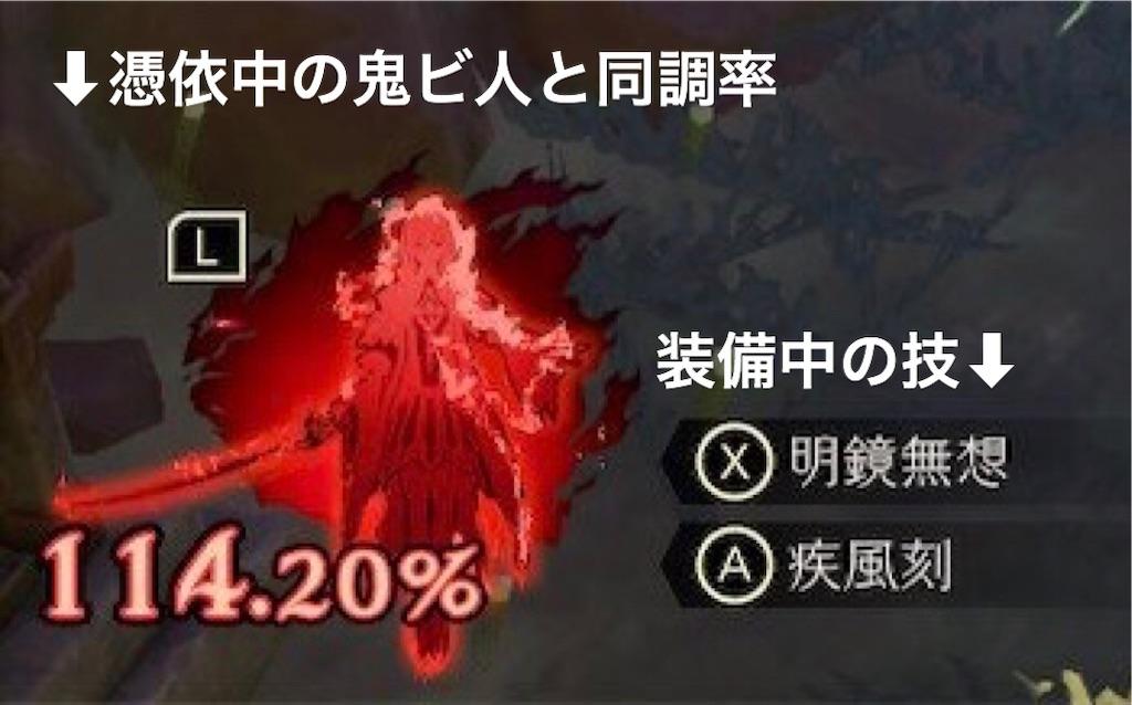 【鬼ノ哭ク邦】同調率