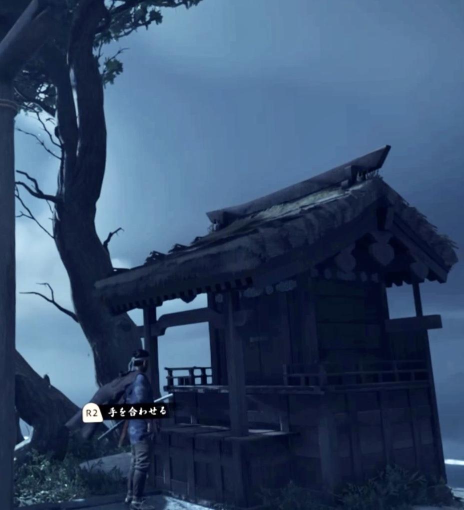 『ゴースト・オブ・ツシマ』連岩神社、社