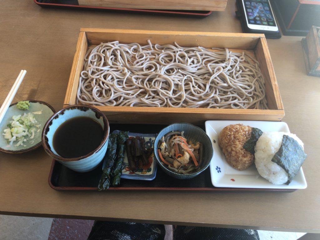 とうげの味処『大川商店』の蕎麦