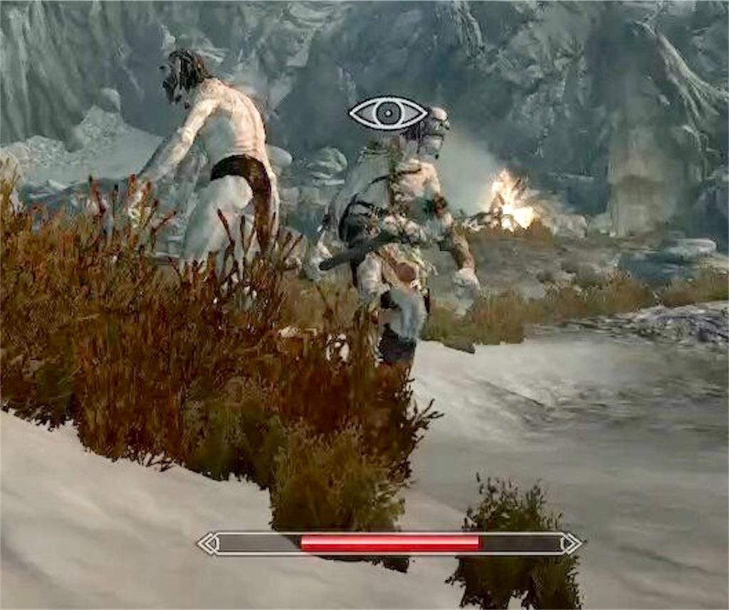 【スカイリム】ノクターナルのシャドウクロークを試しがてら巨人と遊ぶ