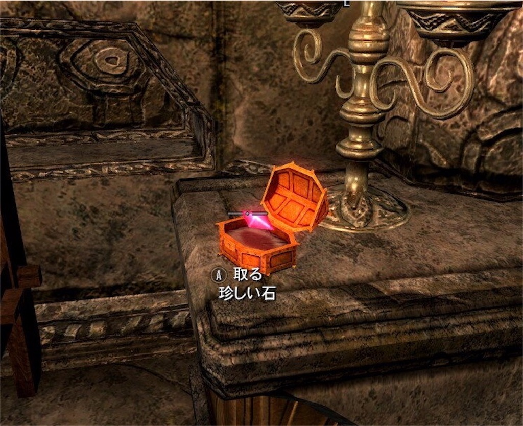 【スカイリム】『混乱の仕事』500ゴールド分の商品をマルカルスで盗む